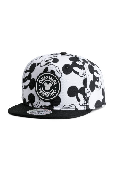 Cap with a motif - Black/Mickey Mouse - Kids | H&M CN