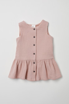 Double-weave cotton dress