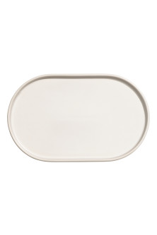 Stoneware serving tray