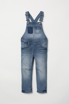 Denim Bib Overalls