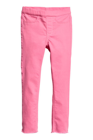 Twill treggings - Pink - Kids | H&M