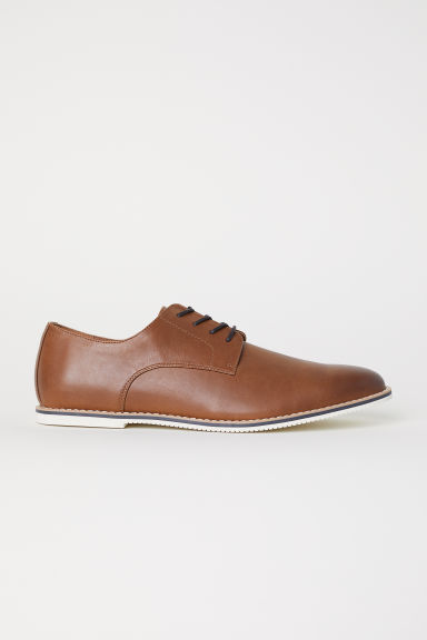 Derby shoes - Brown -  | H&M CN