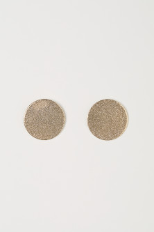 Large stud earrings