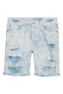 Denimshorts Trashed