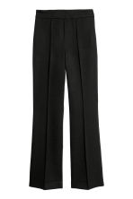 Flared trousers - Black - Ladies | H&M IE 2
