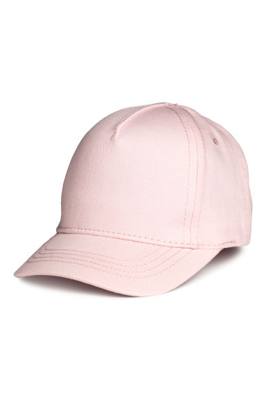 Twill cap - Light pink - Kids | H&M CN