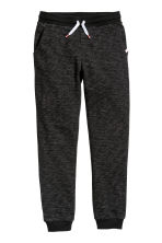 Sweatpants - Black marl -  | H&M 3