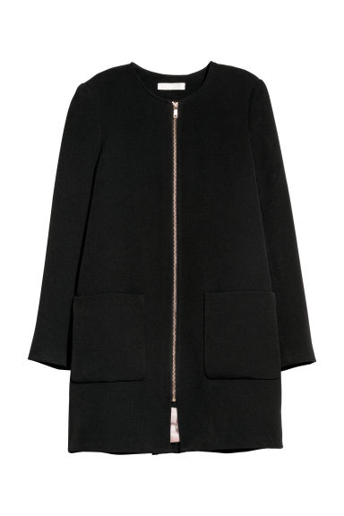 Short coat - Black -  | H&M