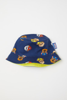 Patterned fisherman's hat