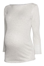 MAMA Jumper with sequins - Natural white/Sequins - Ladies | H&M CN 2