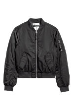 Bomber jacket - Black -  | H&M CN 1