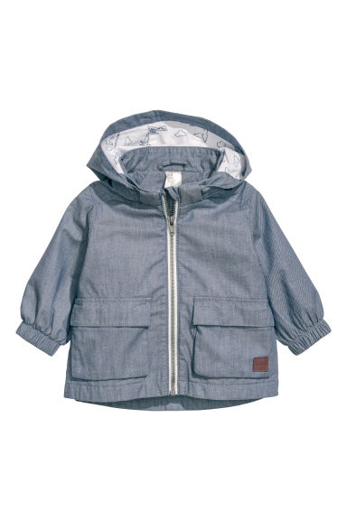 Cotton parka - Blue - Kids | H&M CN