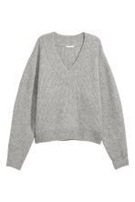 Knitted jumper - Light grey - Ladies | H&M 2