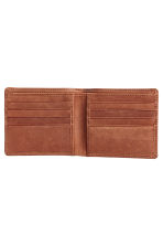 Leather wallet - Brown - Men | H&M IE 2