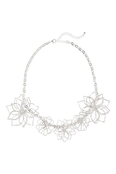Collana - Argentato - DONNA | H&M IT