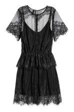 Lace dress - Black - Ladies | H&M 3