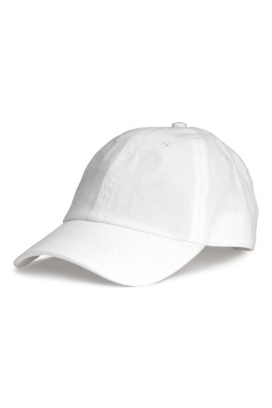 Denim cap - White - Men | H&M CN