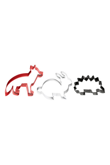 3-pack cookie cutters - Red/White/Black - Home All | H&M IE