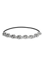 Hairband - Silver-coloured - Ladies | H&M IE 1