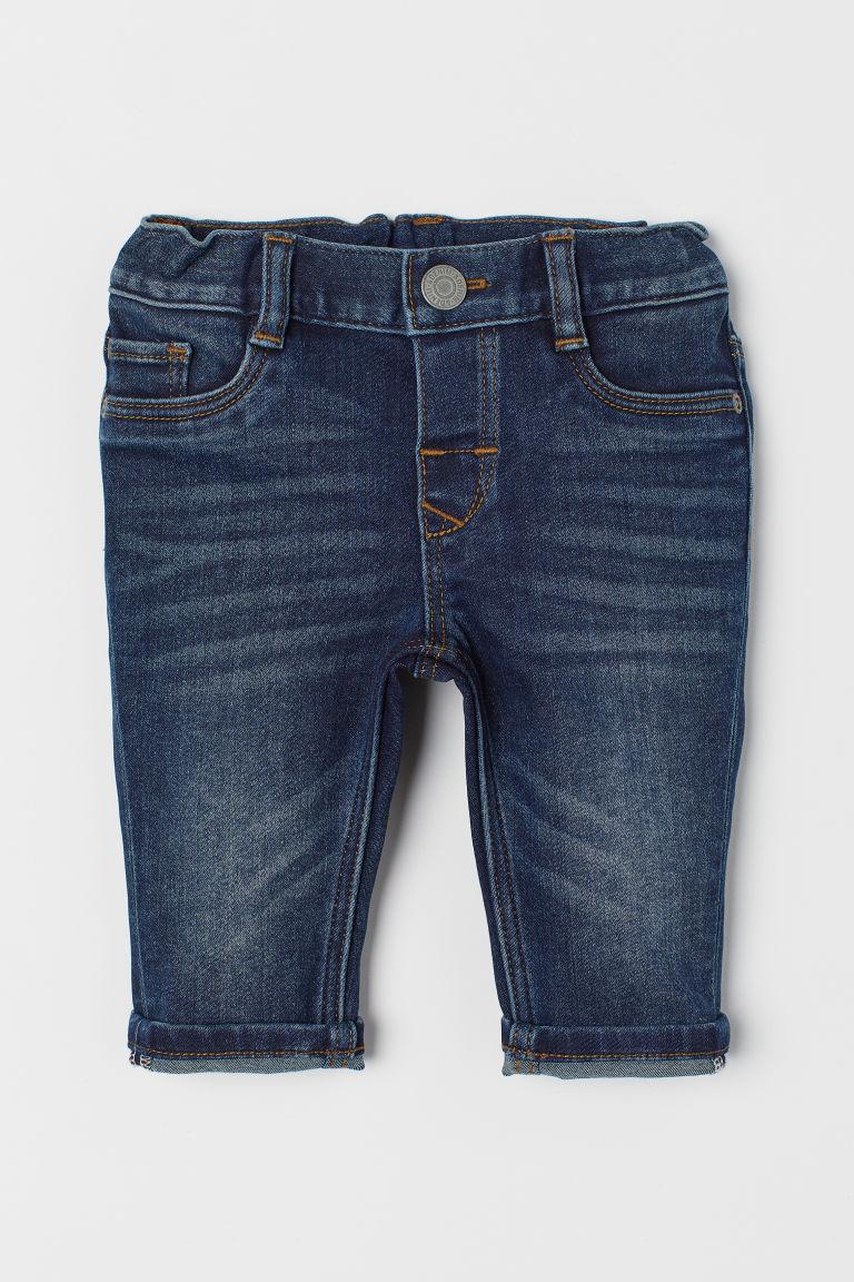 Super Soft Slim Fit Jeans - Denim blue - Kids | H&M GB