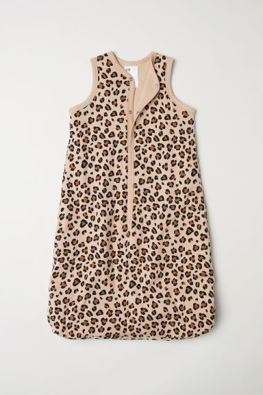 Baby sleeping bag - Beige/Leopard print - Kids | H&M CN
