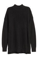 Turtleneck jumper - Black - Ladies | H&M IE 2