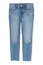 H&M+ Slim Regular Ankle Jeans - 丹寧藍 - Ladies | H&M 1