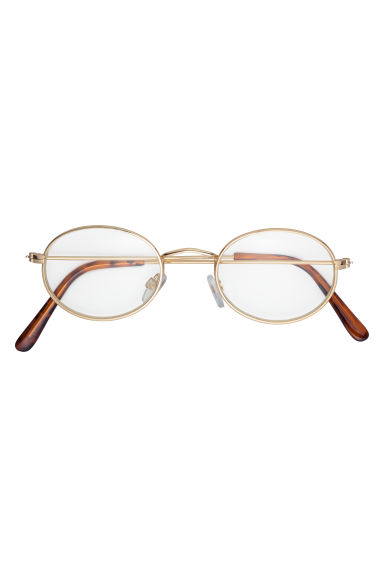 Glasses - Gold-coloured -  | H&M GB
