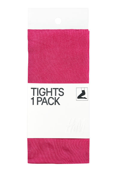 Opaque tights - Cerise -  | H&M