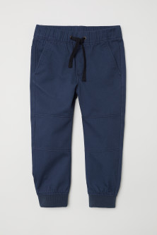 Katoenen pull-on broek