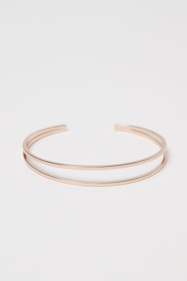 Bangle - Rose gold-coloured - Ladies | H&M CN