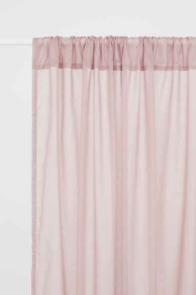 2-pack curtain lengths - Dusky pink - Home All | H&M CA