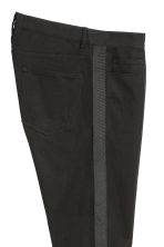 Twill trousers Skinny fit - Black - Men | H&M IE 5