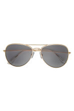 Sunglasses - Gold-coloured - Ladies | H&M CN 1