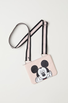 Printed shoulder bag