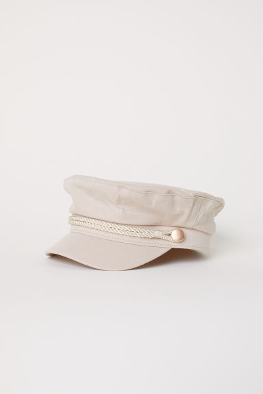 Cotton captain's cap - Powder beige - Ladies | H&M CN
