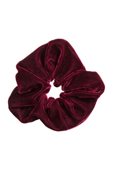 Large velour scrunchie