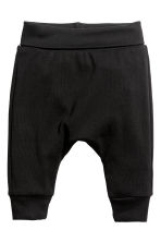 2-pack jersey trousers - Black - Kids | H&M CN 2