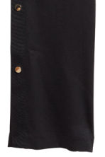 Trousers with press-studs - Black - Ladies | H&M 3