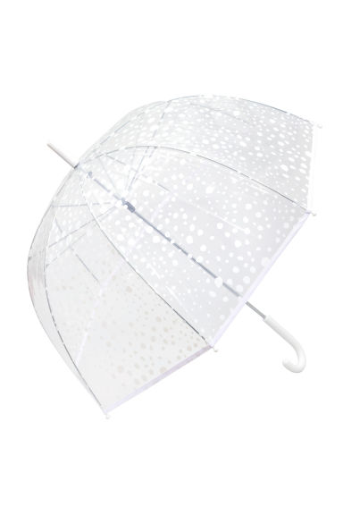 Umbrella - White/Spotted -  | H&M IE