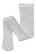 2-pack tights - Grey/Blue-green - Kids | H&M CN 2