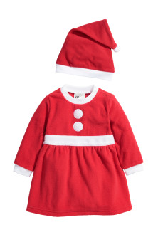 Fleece Santa costume