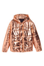 Padded coated jacket - Copper-coloured - Men | H&M CN 2