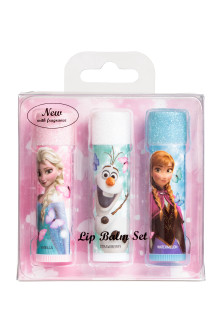 3-pack flavoured lip balms