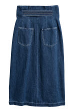 Denim skirt - Denim blue - Ladies | H&M CN 4