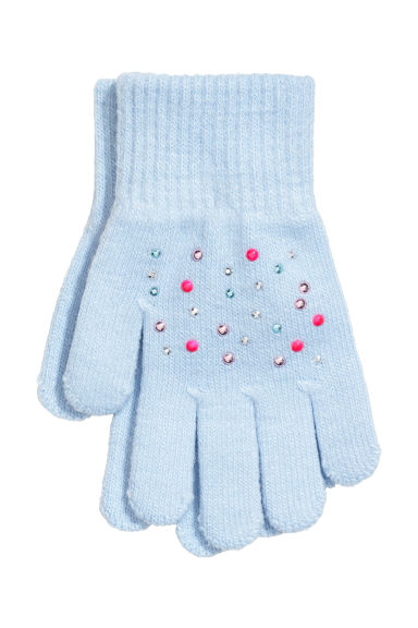 Gloves - Light blue - Kids | H&M