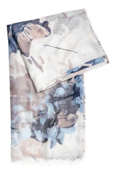 Airy scarf - Blue - Ladies | H&M IE