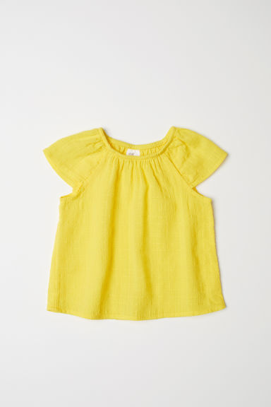 Cotton top - Yellow - Kids | H&M CN