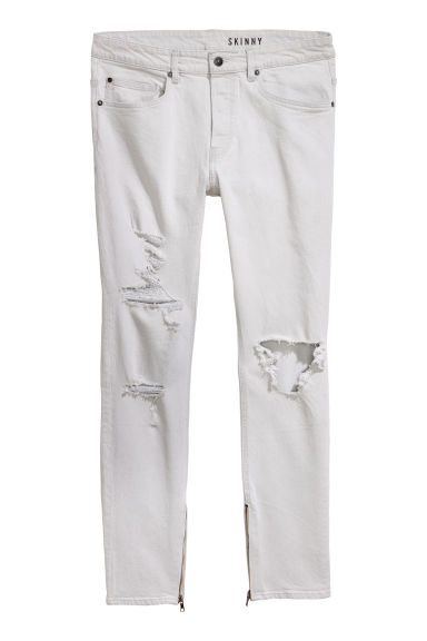 Skinny Jeans - Light beige -  | H&M IE