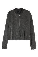 Short jacket - Black/Glittery - Ladies | H&M IE 2